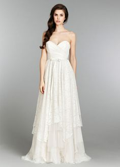 Bridal Gowns, Wedding Dresses by Jim Hjelm Blush - Style 1350, Willow