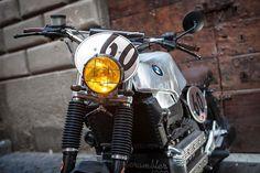 BMW K100 Street Scrambler Custom BMW K100 Street Scrambler by George de Angelis…