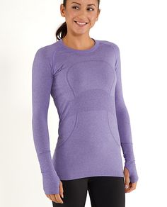 Lululemon Run: Swiftly Tech Long Sleeve... just got this, hope it makes me get up and RUN in the morning!