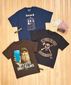 23086d3f8 Doctor Who, Duck Dynasty, The Walking Dead T-shirts! What show is