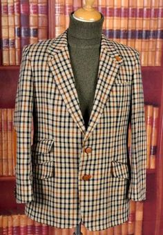 DAKS Tweed jacket