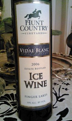 Ice wine from New York State. Finger Lakes Wineries, I Love Ny, Wine Country, Wines, Destinations, Spaces, York, Bottle, City