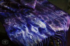IMG_6240 - Shibori, Fiber Art, Plaid Scarf, Weaving, Fashion, Jute, Tunics, Moda, La Mode
