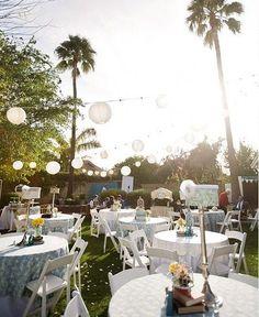 Creative DIY Details {Backyard Wedding} — Celebrations at Home