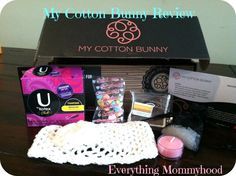 Everything Mommyhood: Subscription Box Review: My Cotton Bunny