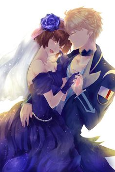 Kawaii Rem & Ritsuka ~ Dance with Devils Dance With Devils, Cute Chibi Couple, Manga Anime, Anime Art, Sailor Moon Background, Romantic Anime Couples, Art Watch, Anime Shows, Romance