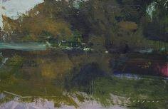 "River Trees by Simon Addyman Oil ~ 6"" x 9"""