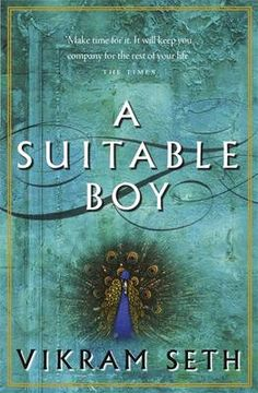 "A suitable boy centres on Mrs. Rupa Mehra's efforts to arrange the marriage of her younger daughter, Lata, with a ""suitable boy""."