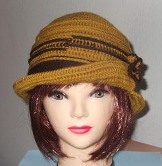 Sombrero en crochet http://www.noraccesorios.com