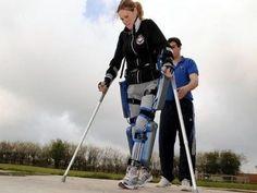 La robotique au service du handicap    Claire Lomas va participer au marathon de Londres avec des jambes robotiques    Pour lire la suite, suivez ce lien http://www.trendy-magazine.com/hightech/la-robotique-au-service-du-handicap/