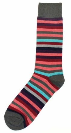 Could use some snappy striped dress socks ...  Unsimply Stitched Pink Purple Multi-Colored Stripe Mens Dress Sock Unsimply Stitched,http://www.amazon.com/dp/B00AGQ9NYM/ref=cm_sw_r_pi_dp_oDBEsb1GQCBQ3C8J