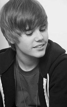 My best black & white #Justin #Bieber photo
