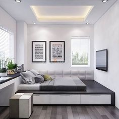 61 Best Bedroom Decor Ideas To Inspire succulent bedroom decor summer bedroom decor simple bedroom lakehouse bedroom Home Room Design, Master Bedroom Design, Small Room Bedroom, Home Interior Design, House Design, Modern Interior, Simple Bedroom Decor, Home Decor Bedroom, Modern Bedroom