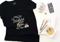 Cricut Explore Air Gold Edition – Exclusively at Jo-Ann T Shirt Tutorial, Cricut Explore Air, T Shirt Diy, Crafts To Make, Fun Crafts, Party Fashion, Diy Projects, Project Ideas, Cool Outfits