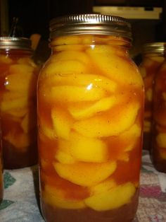 Homemade Peach Pie filling - eat it now or can it for later!