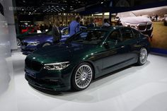 2017 Frankfurt Auto Show: BMW Alpina D5 S G30 with 388-horsepower Triturbo :  The fastest diesel in the world is the highlight of ALPINA at the 2017 Frankfurt Auto Show. With its top speed of 286 km/h the new BMW ALPINA D5 S surpasses all other diesel cars produced in series in the world and brings another record to Buchloe.  Within the framework of the world debut at the I2017 AA ALPINA also provided a clarification on the engine. The new variant of the BMW B57 engine has three…
