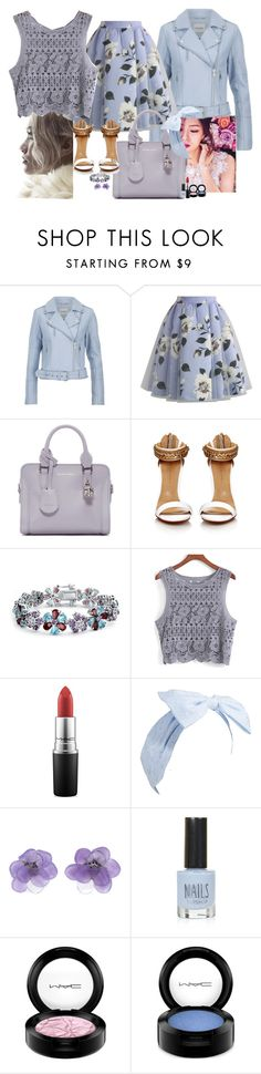 """""""Floral time"""" by claire86-c on Polyvore featuring moda, Gestuz, Chicwish, Alexander McQueen, Bling Jewelry, MAC Cosmetics, Chanel e Topshop"""