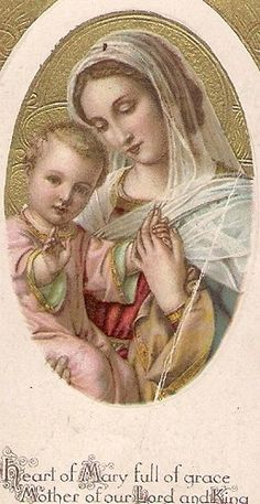 Heart full of grace Mother of our Lord and King