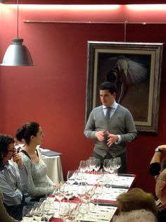 Noches de Vino en Vinalia. En esta ocasión se realizó la cata comentada y maridada de los vinos de la Bodega Marqués de Griñón por parte de Eloy Ramírez, Responsable de Cuentas Nacionales de la Bodega.