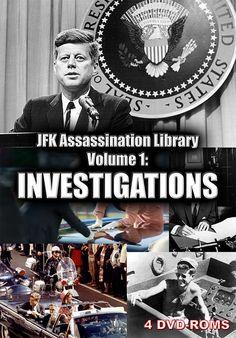 JFK Assassination Library Vol. 1 of 5: Investigations - 4 DVD-ROM boxed