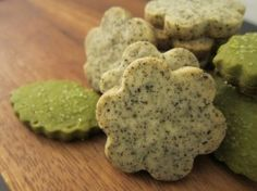 Earl Grey Tea & Matcha Shortbread. This recipe is great! You can use any kind of tea you like :)