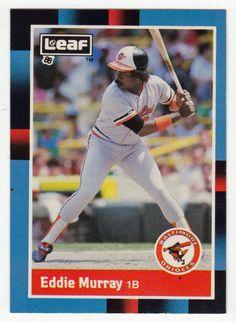 Eddie Murray # 172 - 1988 Leaf Baseball