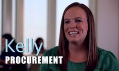 Kelly is a part of our procurement team. She helps support strategic buyers to source the best #ingredients that go into #Nestle products. At Nestle, you'll have opportunities to #work with others as well as developing your own #career.