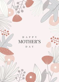Floral elegant mother s day card vector premium image by rawpixel com sasi wan floral elegant mother s day card vector premium image by rawpixel com Mothers Day Poster, Mothers Day Quotes, Mothers Day Crafts, Graphic Design Brochure, Graphic Design Typography, Graphic Design Illustration, Monkey Illustration, Yoga Illustration, Illustration Children