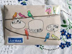 naomi loves: Mail art – 9 new ones