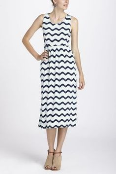 Waves Midi Dress from anthro