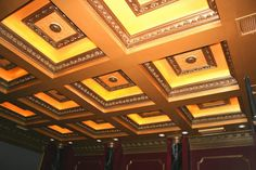 Home Theatre Ceiling by Waugh Custom Home #Design_Build