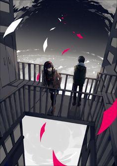 Yato and Hiyori - Noragami best anime *-* Noragami Anime, Yatogami Noragami, Manga Anime, Yato And Hiyori, Manga Art, Anime Art, Fanart, The Darkness, Naruto