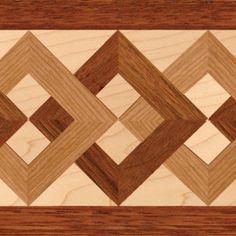 Wood Floor Borders: Hardwood Floor Inlay by Oshkosh Designs Wood Floor Borders – Wood Flooring Accents – Oshkosh Designs Wood Floor Pattern, Floor Patterns, Wall Patterns, Installing Hardwood Floors, Engineered Hardwood Flooring, Real Wood Floors, Wooden Flooring, Wooden Art, Wood Wall Art