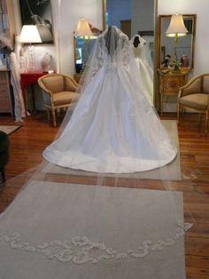 Solstiss Lace Bridal Veil by Karis Fox, via Behance Wedding Veil, Wedding Dresses, Fox, Behance, Style Inspiration, Couture, Bridal, Lace, Behavior