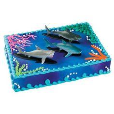 Shark cake. Simple yet cute