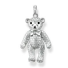 686e35f7a64 Thomas Sabo Teddy Bear Pendant with Cubic Zirconia