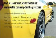 5 Lessons From Steve Voudouris' Remarkable Company-Building Success