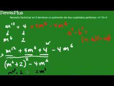 factorización de una suma de cuadrados por completación del trinomio