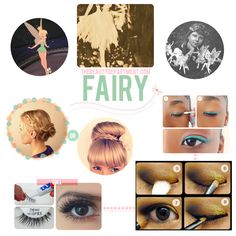 Halloween Help: Follow the links if you need a little beauty help for your fairy costume.