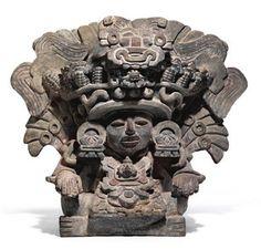 Zapotec Urn, Oaxaca, Mexico