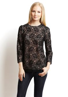 PIPPA  Corded Lace Top