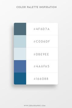 color psychology and color therapy Hex Color Palette, Website Color Palette, Website Color Schemes, Paint Color Palettes, Blue Color Schemes, Color Psychology Test, Psychology Studies, Psychology Facts, Web Design Color
