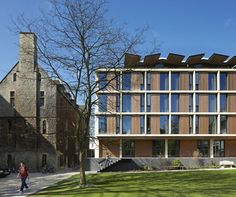 St Antony's College / Bennetts Associates Architects