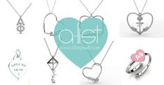 Sorority jewelry - ready to wear collection! #axo #dg #theta #aphi  Available only at www.alistgreek.com