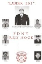 FDNY Engine 202 / Ladder 101 Red Hook Raiders  9-11-2001 SEVEN IN HEAVEN OF LADDER 101