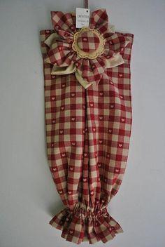 tutorial sewing bag ♥PORTA SACCHETTI