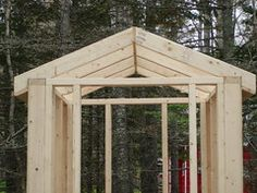 Backyard Shed Plans 6x8 Shed, 8x12 Shed Plans, Free Shed Plans, Backyard Swings, Backyard Retreat, Backyard Landscaping, Backyard Ideas, Building An Outhouse, Shed Building Plans