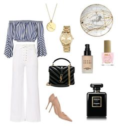 """""""No. 28 ♉️ Taurus"""" by ewdxs ❤ liked on Polyvore featuring A.L.C., Love, Sergio Rossi, Chupi, ncLA, Yves Saint Laurent, MICHAEL Michael Kors, Chanel and Bobbi Brown Cosmetics"""