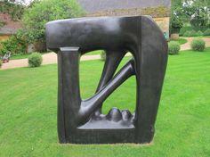 Agustin Cárdenas La Grande porte, 1975 bronzo, cm 200x200x30