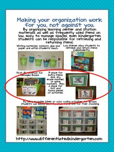 A Differentiated Kindergarten: Daily 5 Chapter Two- Reflection and Some Freebies